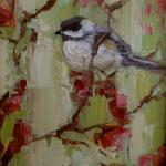 """CHIRP"" 9X12"" OIL ON CANVAS available through Anne Irwin Fine Art SOLD"