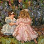 """LITTLE GIRLS IN THE GARDEN"" SOLD"